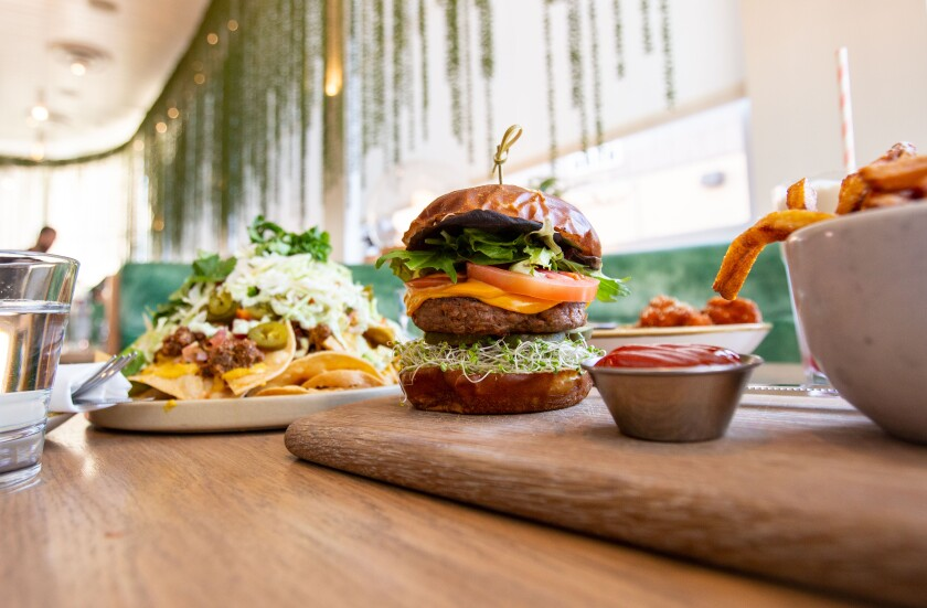 The plant-based fare at Sunset Strip's Fresh on Sunset has attracted stars like Jared Leto, Natalie Portman and Bill Hader.