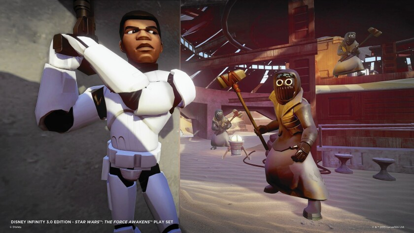 """""""The Force Awakens"""" gets the video game treatment in this add-on for Disney Infinity."""