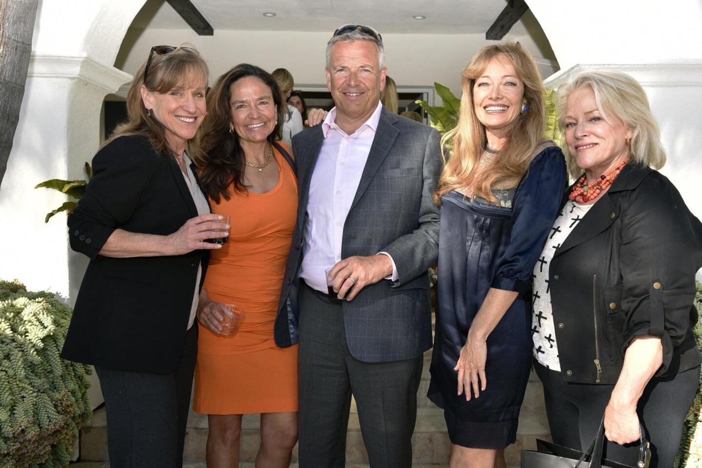 Jennifer Lee, Pelin and Scott Thorogood, Susan Leonard, Cathe Burnham