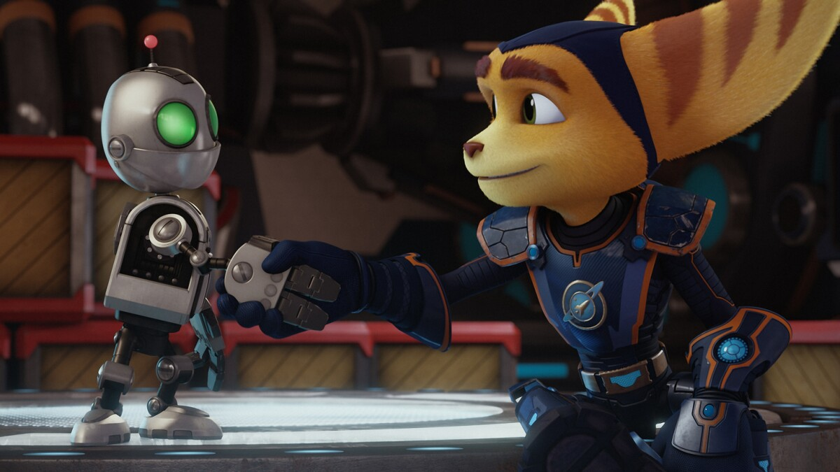 Ratchet Amp Clank Is A Weak Space Wars Saga Los Angeles Times