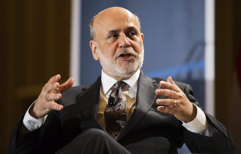 Former U.S. Federal Reserve chairman Ben Bernanke will publish a memoir of the financial crisis.