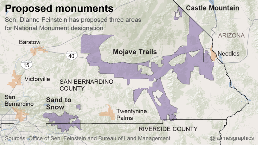 Proposed national monuments
