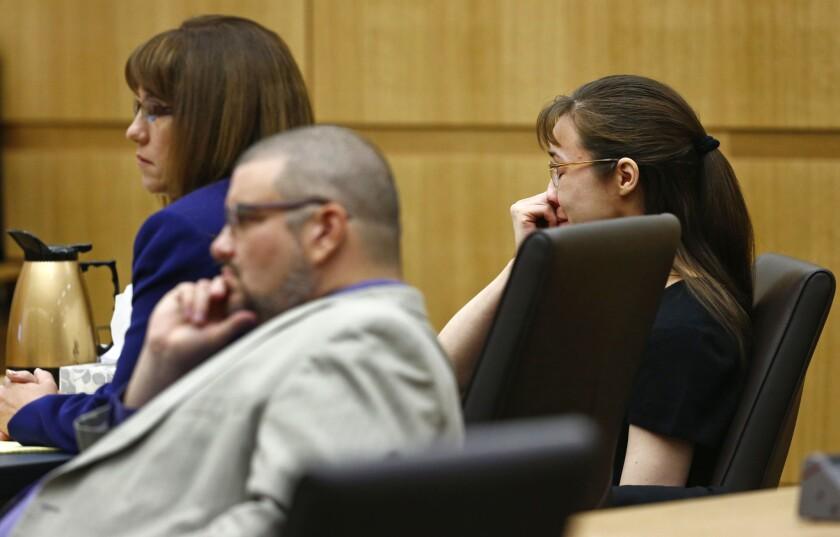 Jodi Arias' attorneys, Jennifer Willmott and Kirk Nurmi, have sought to leave the case.