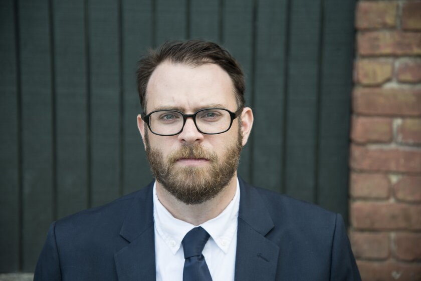 "An author photo of Jared Yates Sexton for his book ""The Man They Wanted Me to Be."" Credit: Danielle"