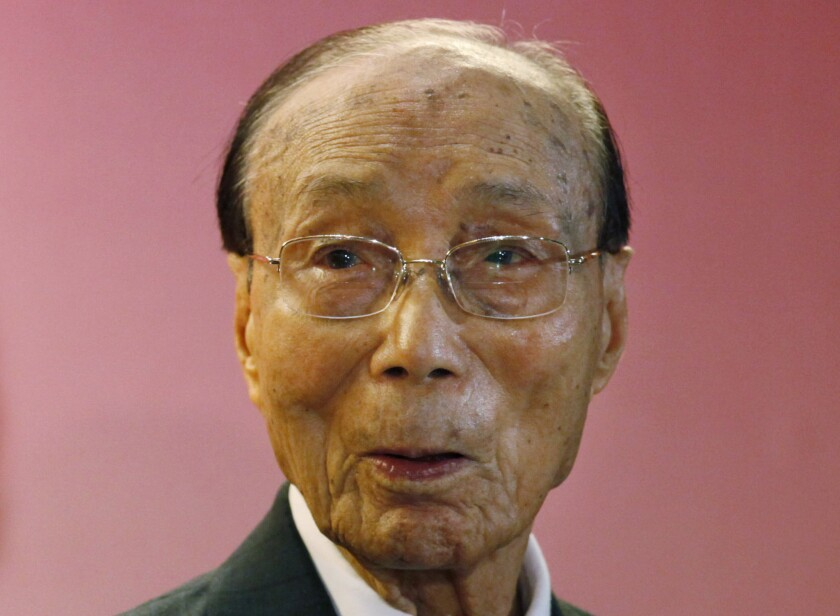 Hong Kong movie producer Run Run Shaw in 2010.