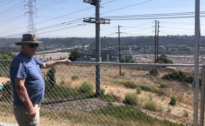 Serra Mesa's Larry Parmenter talks what he's seen over the past 50 years living above the Mission Valley stadium property.