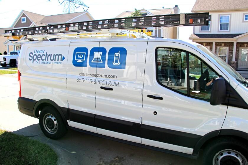 Charter Spectrum truck