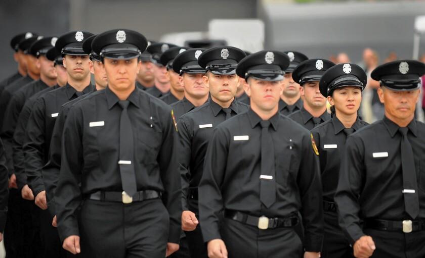 L.A. Fire Department graduates