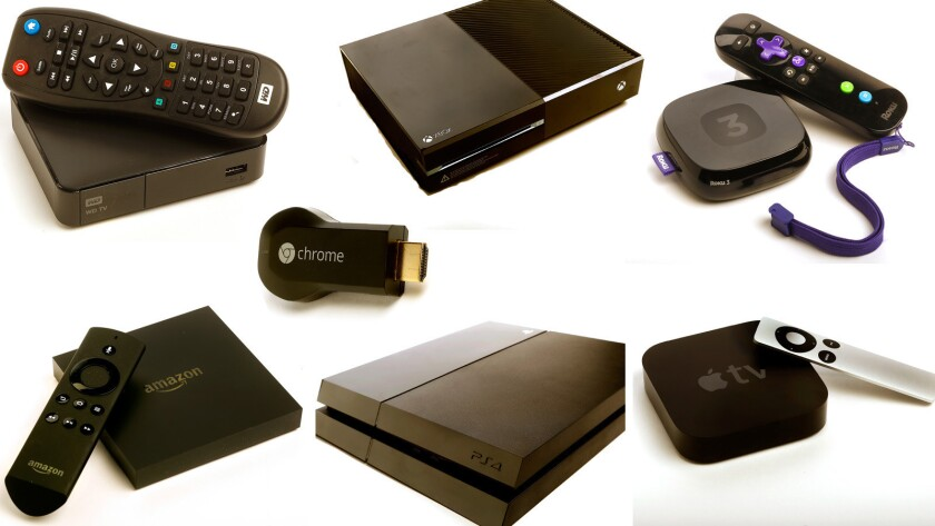 Devices for streaming TV