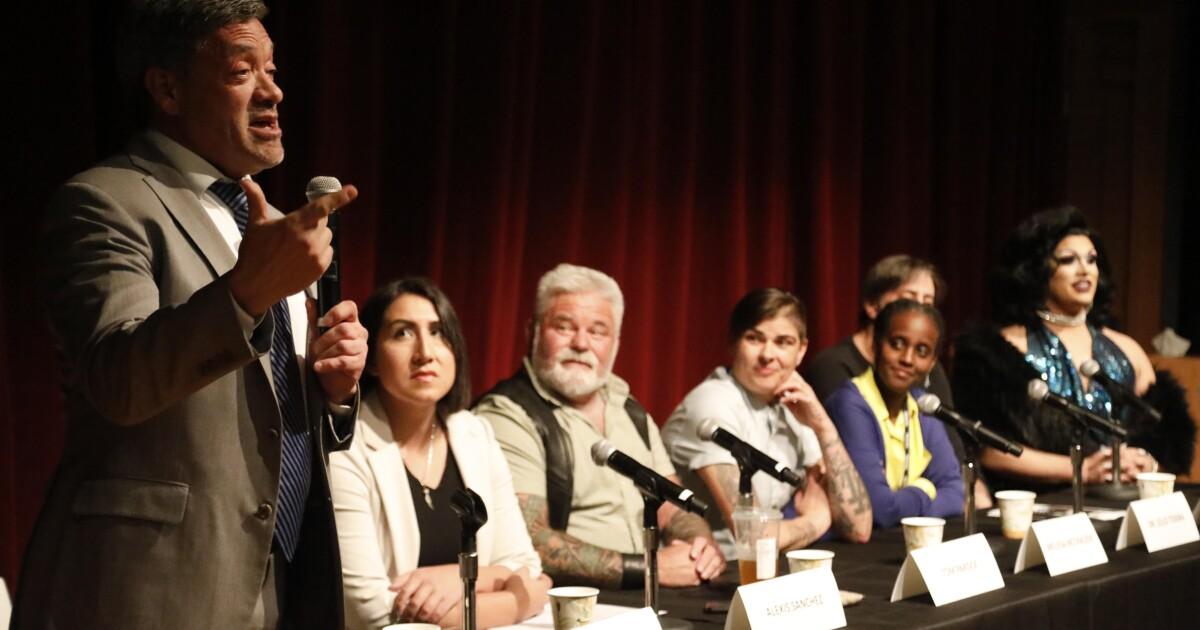 In West Hollywood, ein Rathaus konfrontiert meth-angeheizt 'chemsex