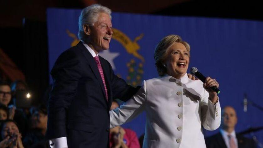 """¿Será Bill Clinton el primer """"primer caballero"""" en la Casa Blanca?"""