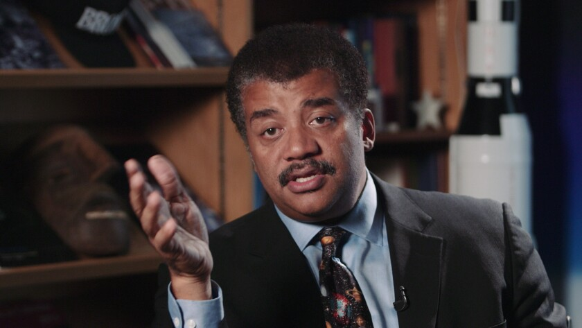Neil deGrasse Tyson, American astrophysicist, author, and science communicator, as featured in the d
