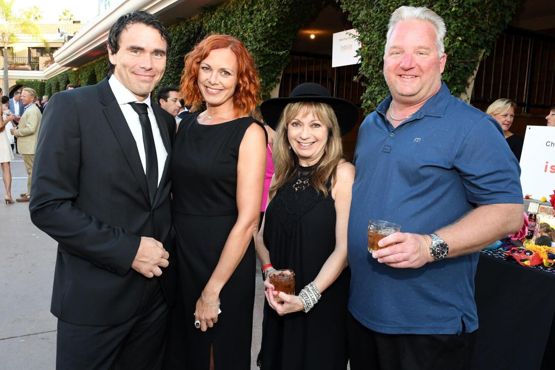 Mathias and Nicole Ehrich, Jan Croff, Gary Owen