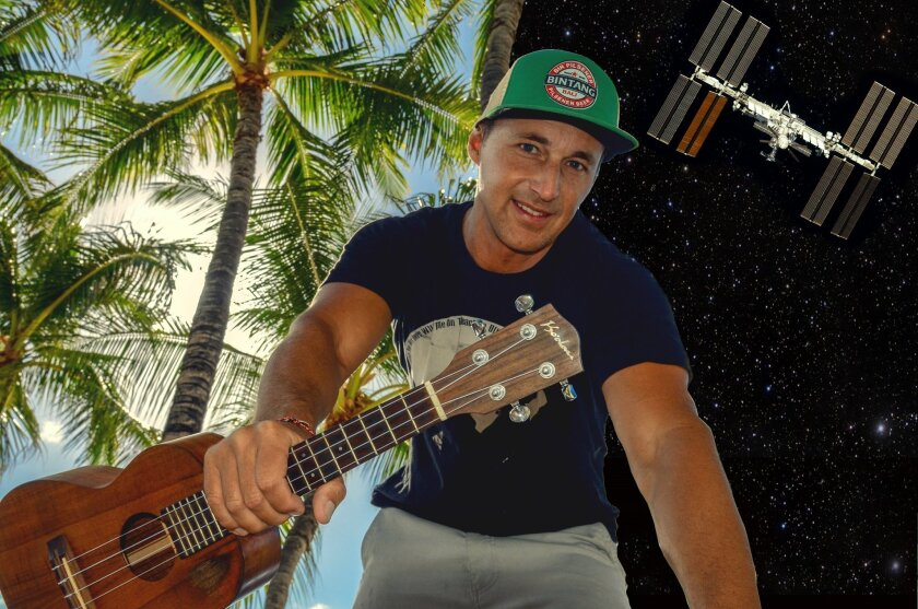 San Diego musician Casey Turner, who once worked at Kennedy Space Station, wrote and performed a song that will be played in space by astronaut Robert Kimbrough.