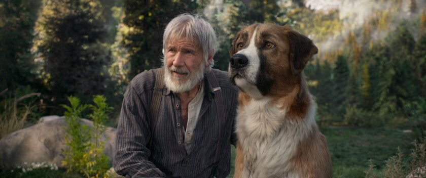 """Harrison Ford in a scene from 20th Century Studios' """"The Call of the Wild."""""""