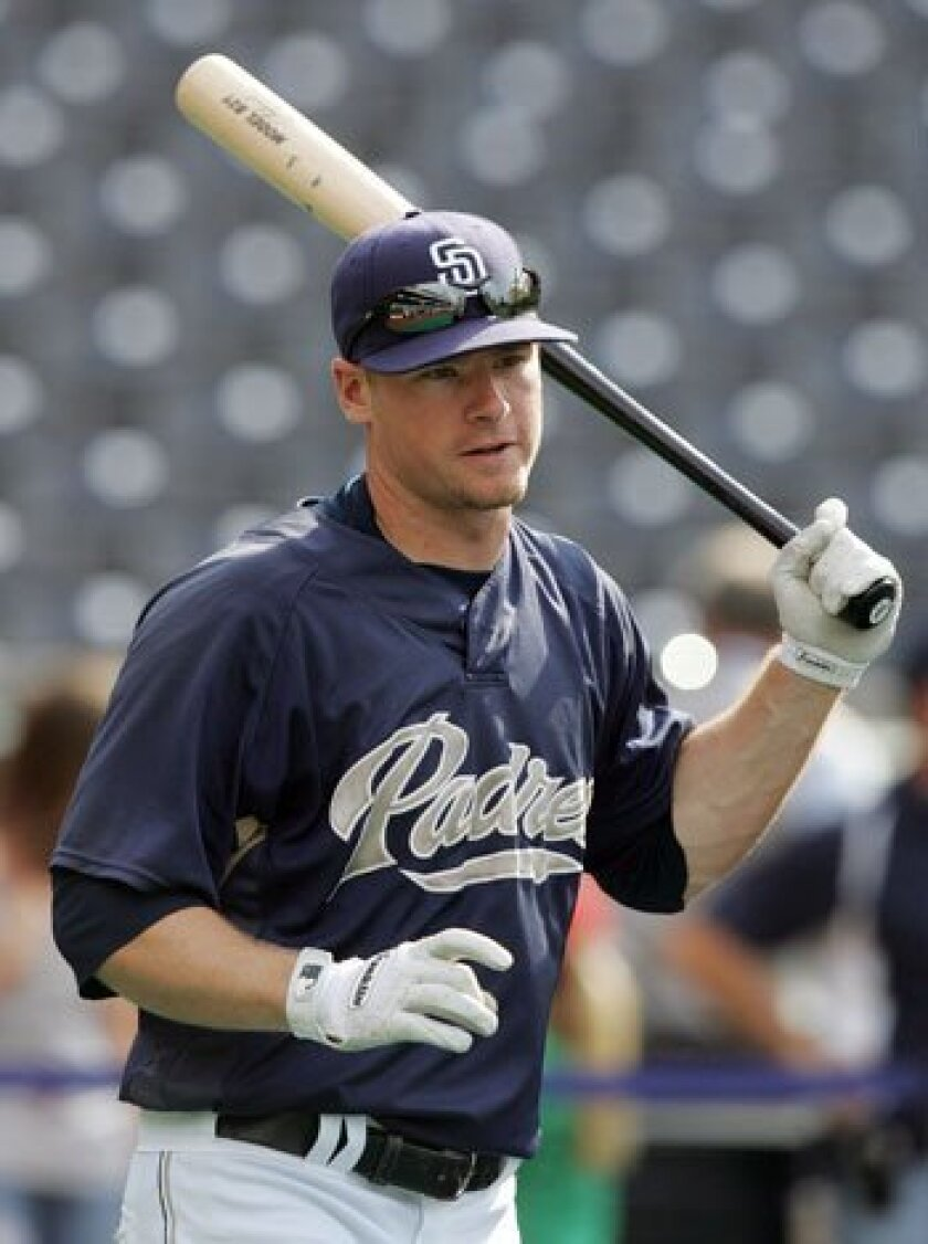Chase Headley hit nine home runs in 91 games with the Padres last season.