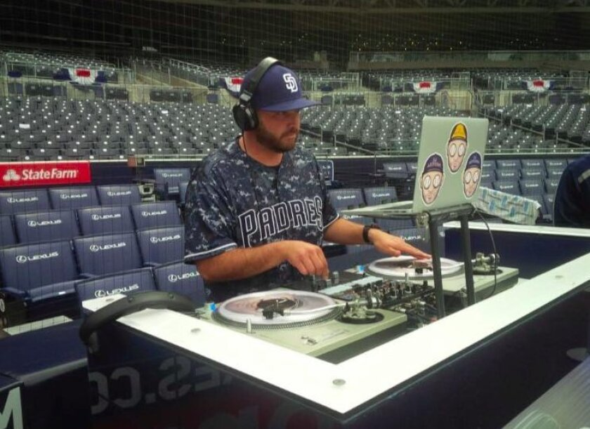A photo from the Facebook page of Art Romero, known professionally as DJ ArtForm, who had served as the Petco Park DJ for the Padres.