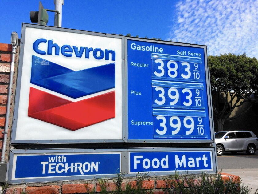 In one month, gas prices in state have surged about $1 a gallon