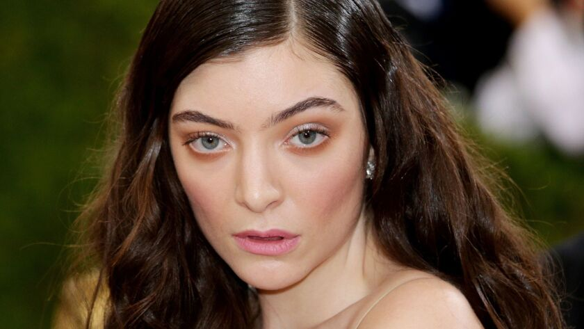 Lorde cancels concert in Israel, New York, USA - 02 May 2016