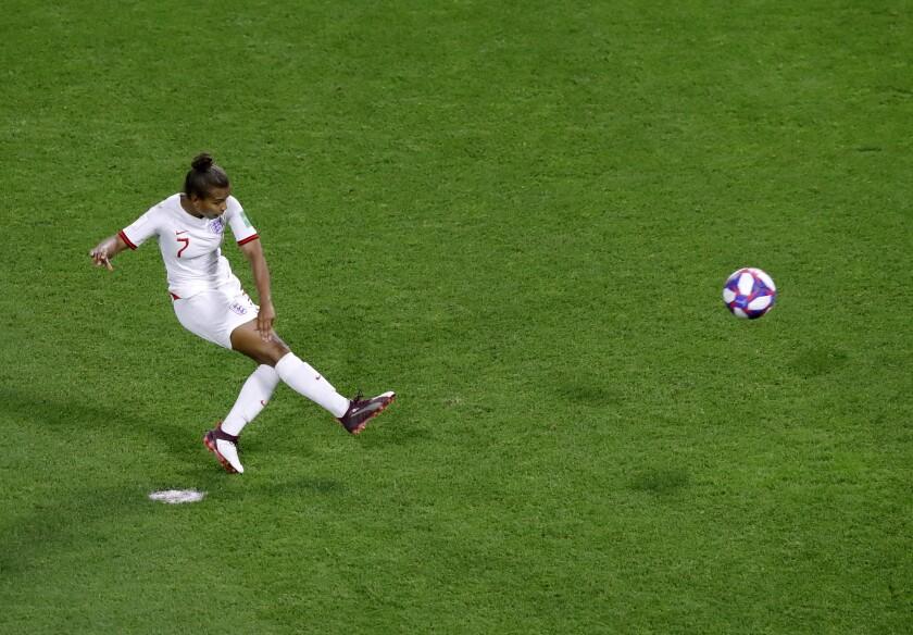 Soccer England Parris