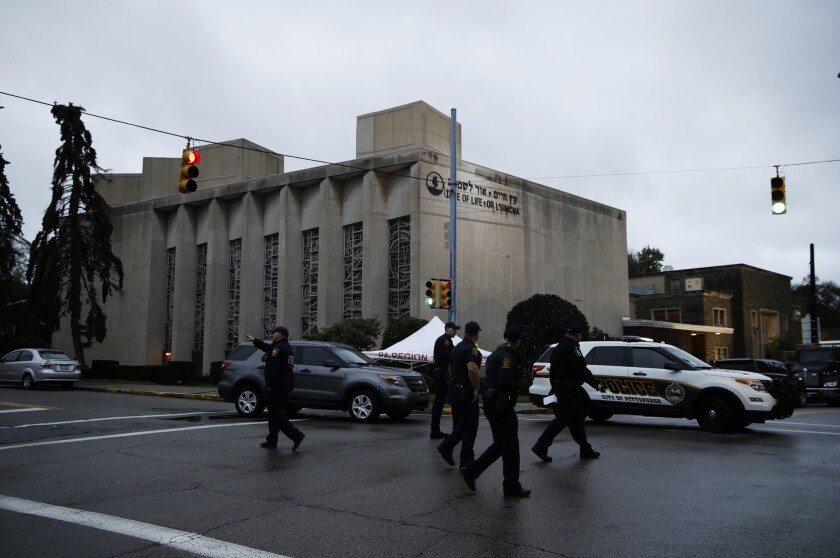 Robert Bowers killed 11 people inside the Tree of Life Synagogue in Pittsburgh Saturday.