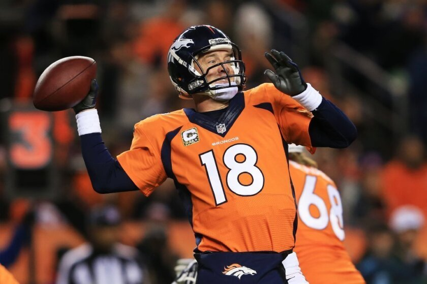 Peyton Manning was untouchable -- thanks to Denver's offensive line