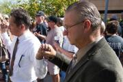 Prayer vigil draws crowd in El Cajon