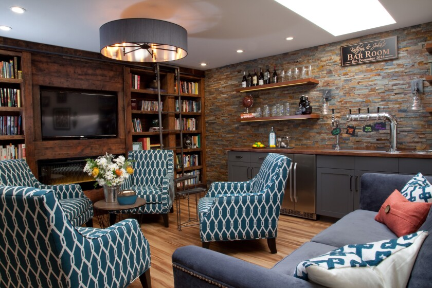 """This residential """"Bar Room"""" in Coronado, designed by Michelle Strausbaugh, Allied ASID, is a past winner in the awards."""