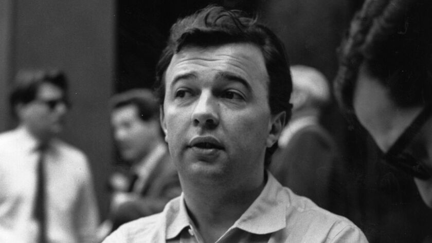 Theater director Peter Hall, pictured here in 1965, died Monday at the age 86.