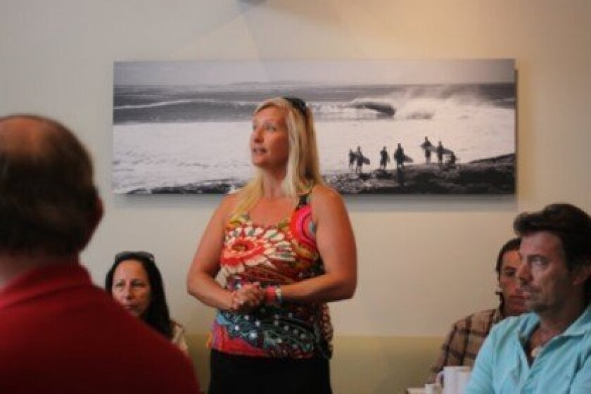 Izzy Tihanyi, co-owner of Surf Diva, shares her concerns with the tentative schedule.