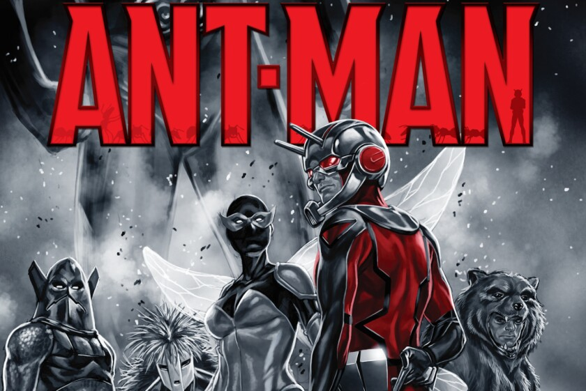 """""""Ant-Man No. 1"""" cover by Mark Brooks."""