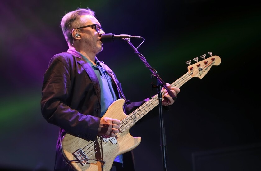 Marciano Cantero es bajista y vocalista de la banda argentina Enanitos Verdes.