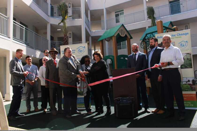 Solutions for Change opens affordable housing complex