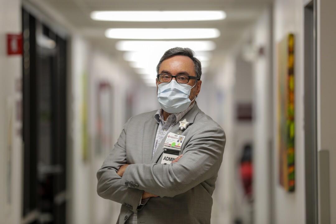 Fred Hunter, of Desert Valley Medical Group.