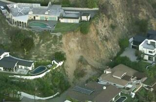 Mudslide in the Hollywood Hills