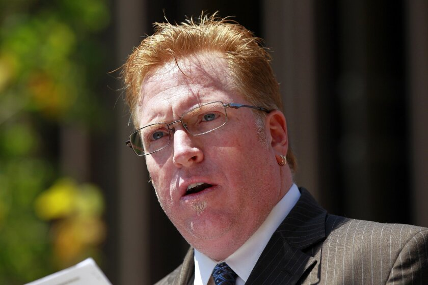 Attorney Cory Briggs  renewed calls for the resignation of Mayor Bob Filner while sharing explicit details about encounters that women had with the mayor at a news conference.
