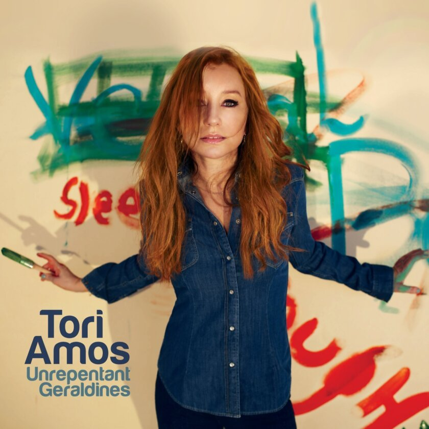 """This CD cover image released by Mercury shows """"Unrepentant Geraldines,"""" by Tori Amos. (AP Photo/Mercury)"""