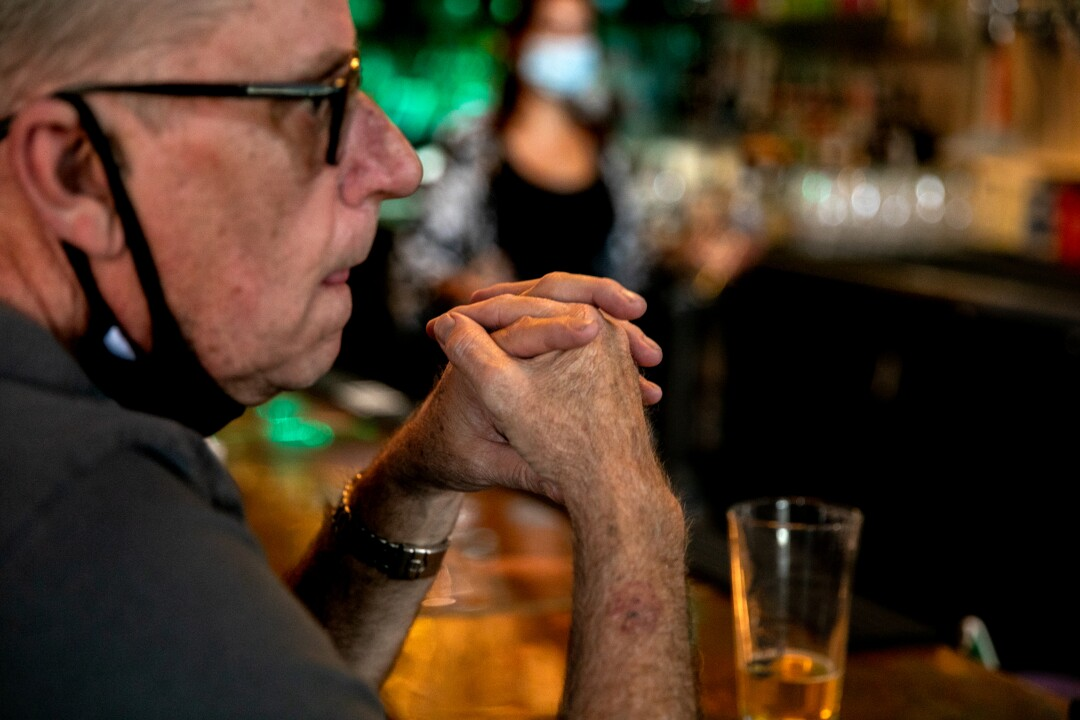 Bill Lutzius, the owner of Brooklyn Bar and Grill.