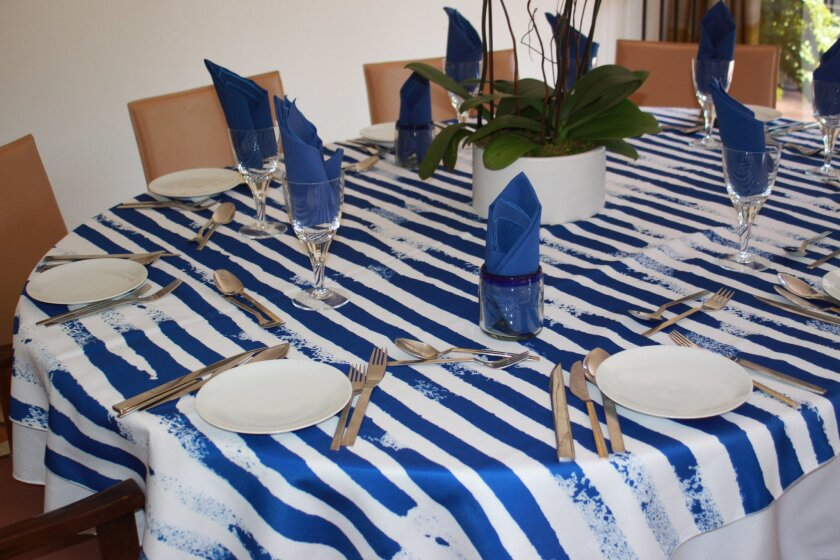BottleCloth tablecloths are made from recycled plastic bottles.