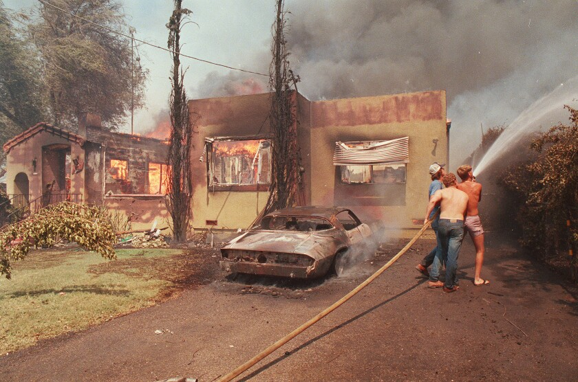 1985 Normal Heights fire
