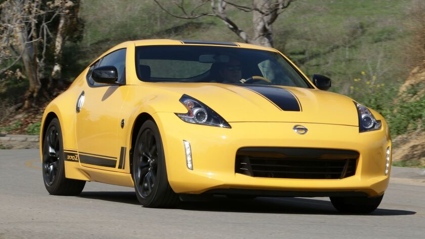Review: Nissan 370Z is a sports car anachronism — a fast one - Los
