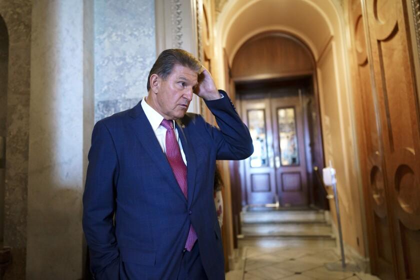 El senador Joe Manchin