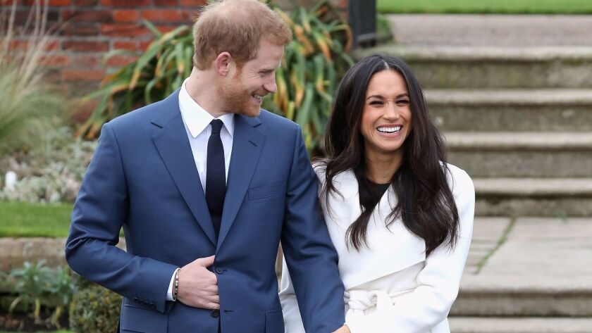 Prince Harry and American actress Meghan Markle announced their engagement Monday.