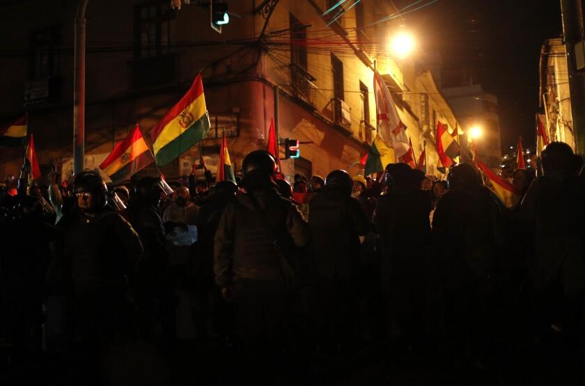 BOLIVIA-PROTESTAS