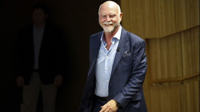 Human genome research pioneer, J. Craig Venter, co-founder of Human Longevity and the J. Craig Venter Institute, in a 2017 photo.