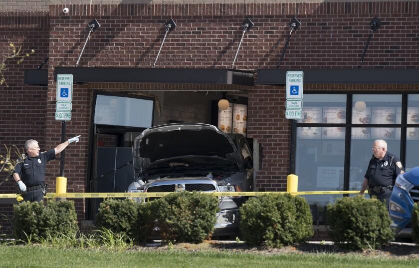 Restaurant Crash Fatal Shooting