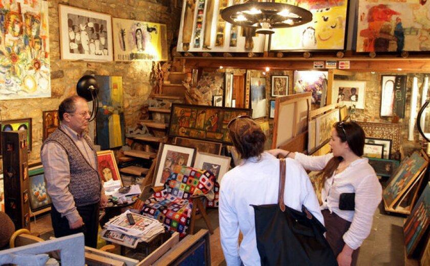 Art store in Damascus