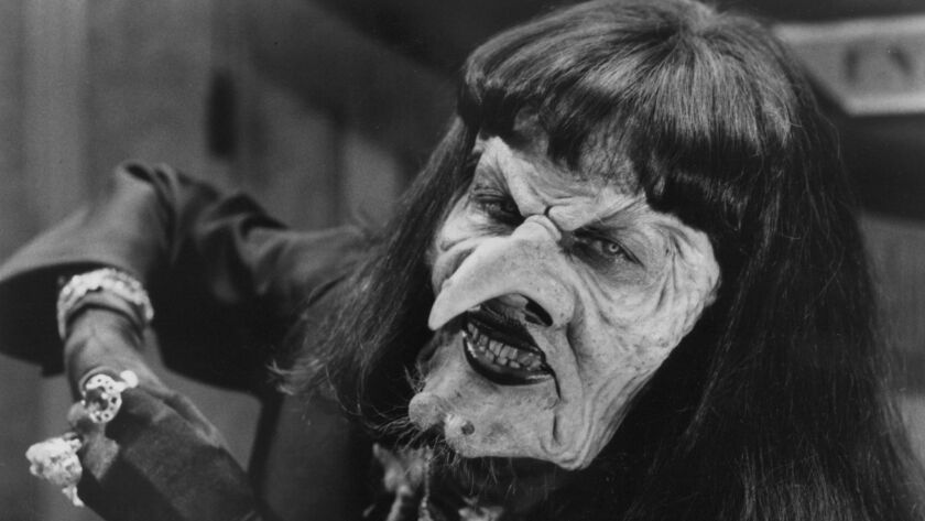 """Anjelica Huston in the 1990 film """"The Witches."""""""