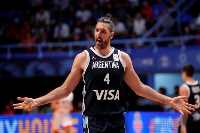 El deportista argentino, Luis Scola EFE/Archivo