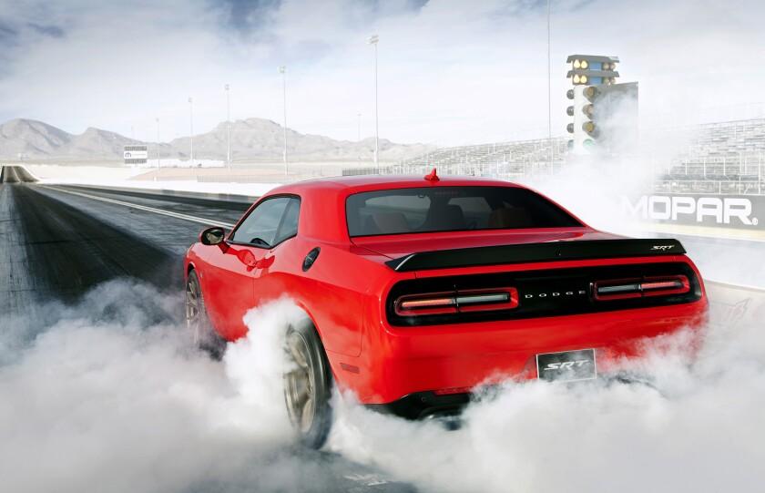 Dodge's Challenger Hellcat